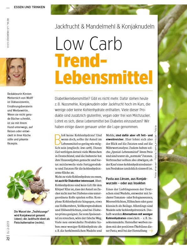 Low Carb Lebensmittel – lohnt sich das?